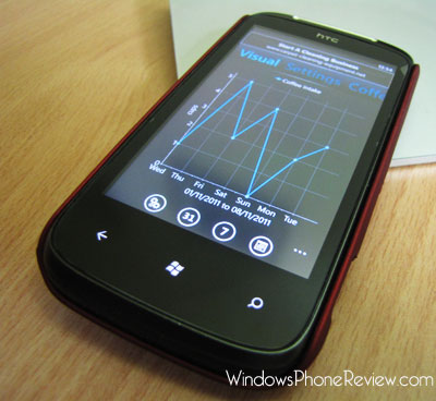 Windows Phone Activity Tracking App