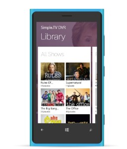 simple tv windows phone