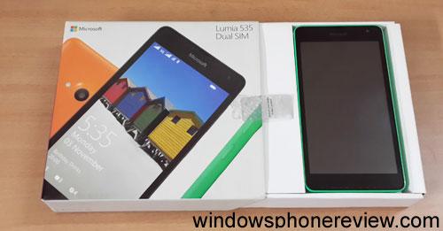 lumia 535 unboxing