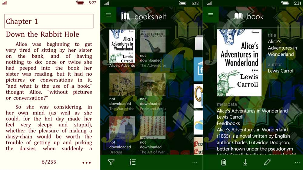 Top eBook reader apps for windows 10 mobile