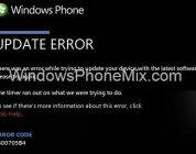 Windows Phone 800705B4 Error (SOLUTION)