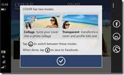 facebook cover windows phone review