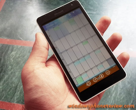 one calender windows phone review