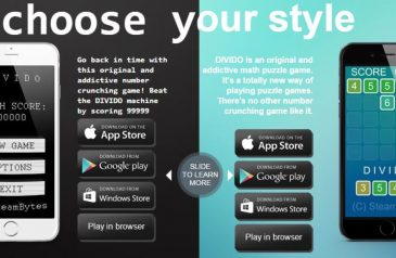 Divido, a Retro Game for Puzzle and Arcade Game Lovers