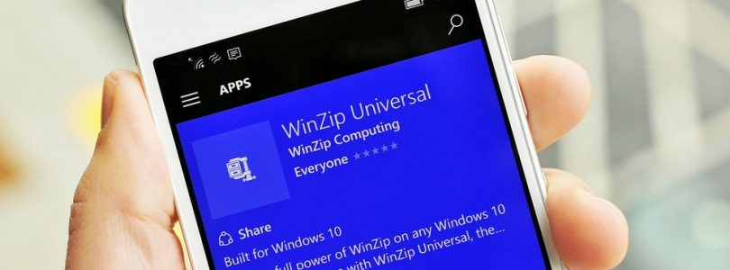Winzip for windows 10 mobile now available for download – WinRAR for windows phone